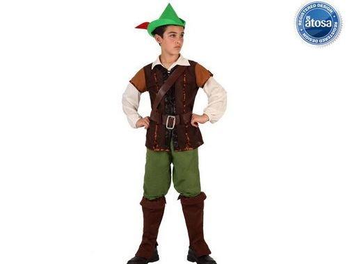 Disfraz de niño de los bosques talla 2