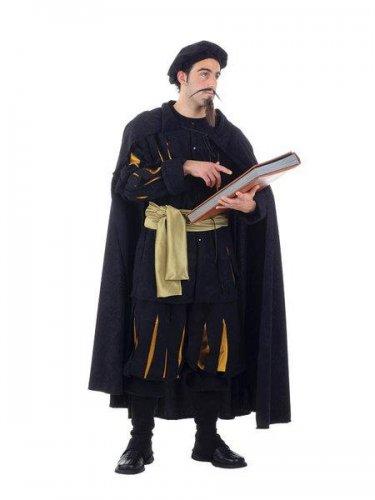 Disfraz de hidalgo trovador