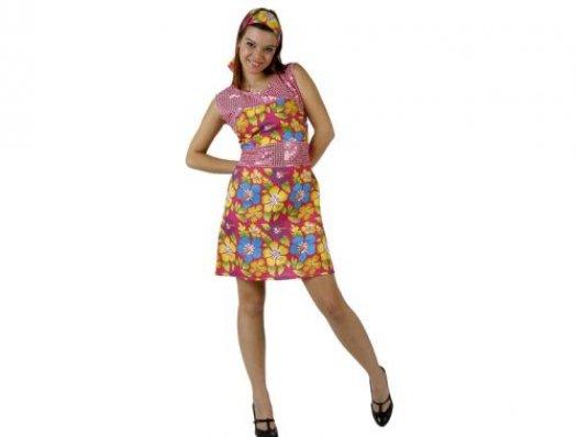 Disfraz de hipppy yeye mujer