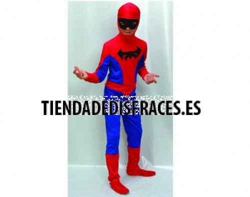 Disfraz de hombre araña 2 a 4 años
