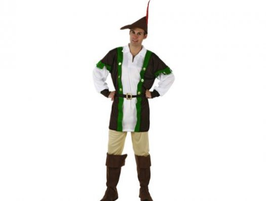 Disfraz de hombre de los bosques, adulto talla 2 (M-L)