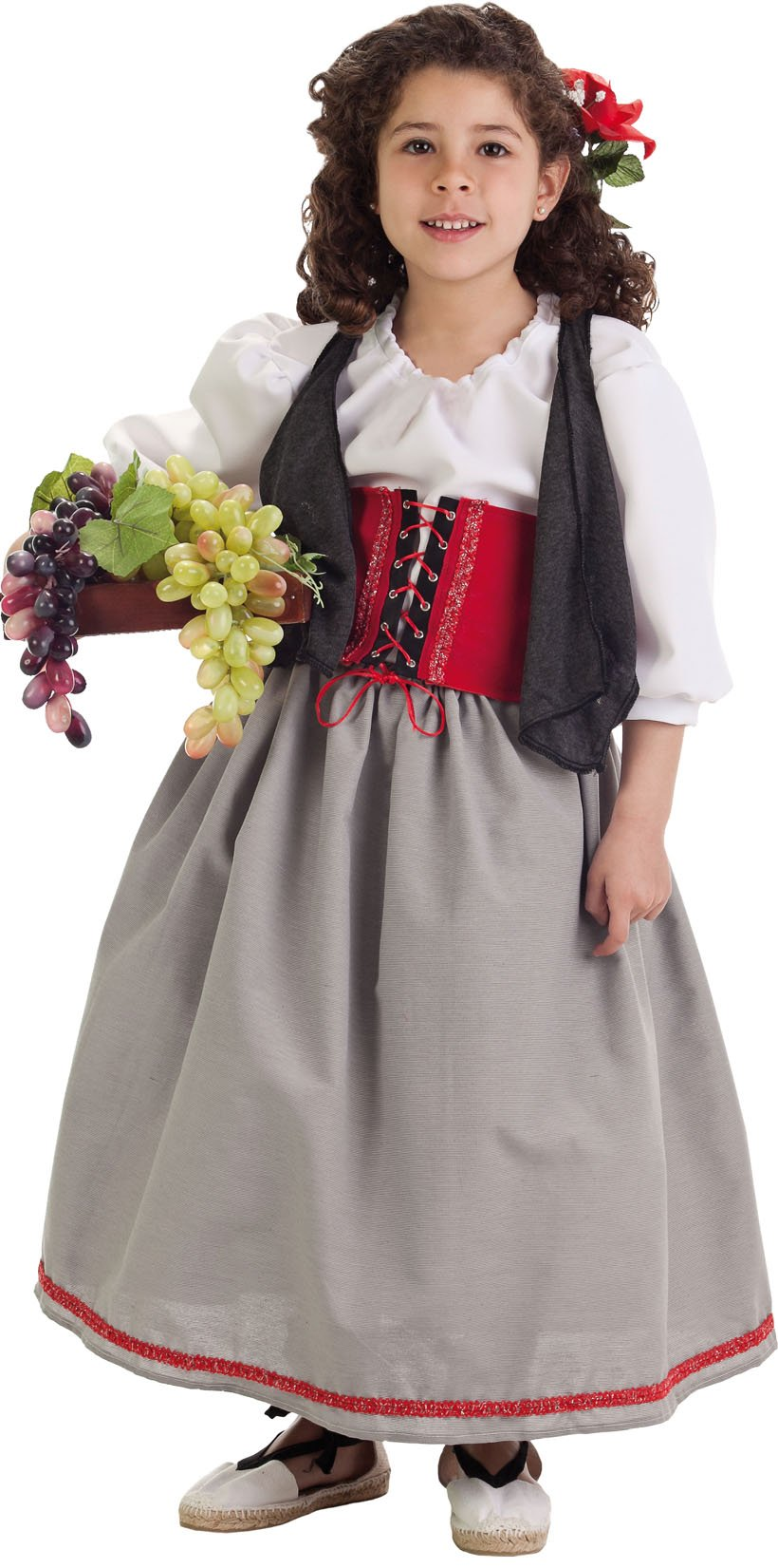 Disfraz de hortelana talla 3 (7-9 años)
