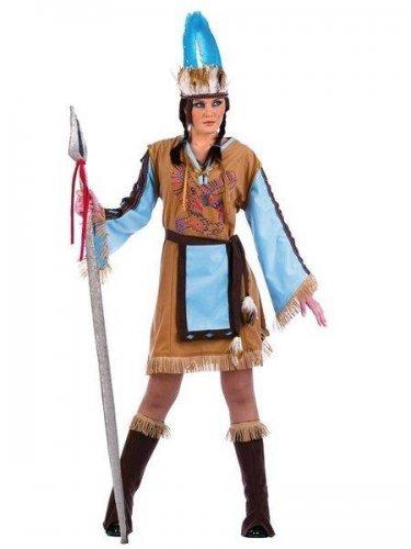 Disfraz de india mohicana