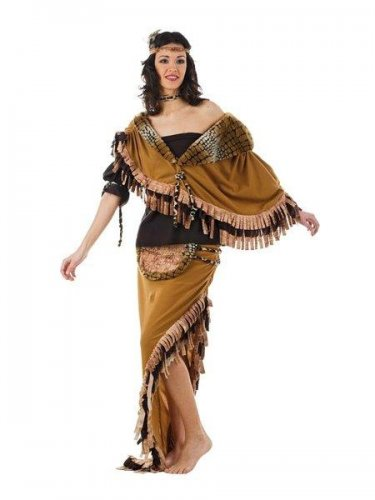 Disfraz de india pocahontas