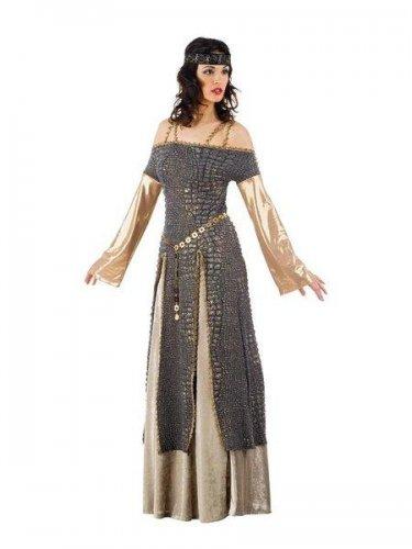 Disfraz de lady ginebra medieval Talla L