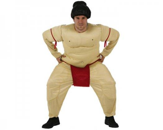 Disfraz de luchador de sumo adulto