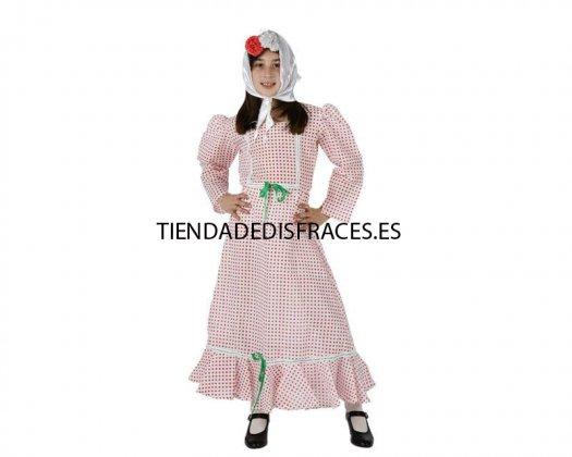 Disfraz de madrileña, Talla 2 (5 – 6 años) (1 pieza) t-2