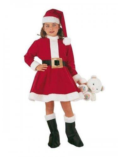 Disfraz de Mama Noel infantil (2) 3 a 5 años