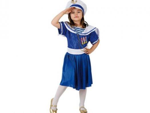 Disfraz de marinera, 3-4 años