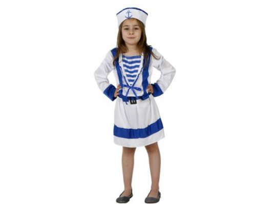 Disfraz de marinera Talla 1 (3 – 4 años)