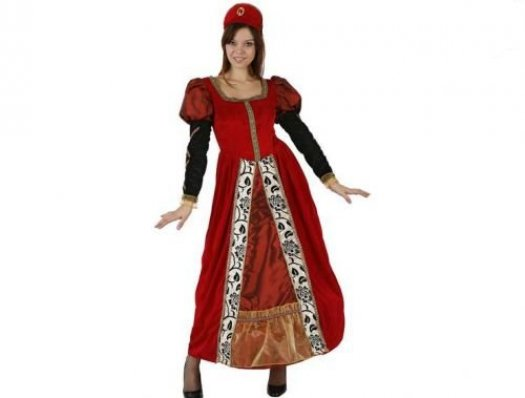 Disfraz de marquesa medieval adulto Talla 3 (XL-XXL)