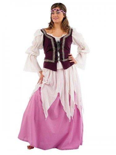 Disfraz de medieval julieta Talla M