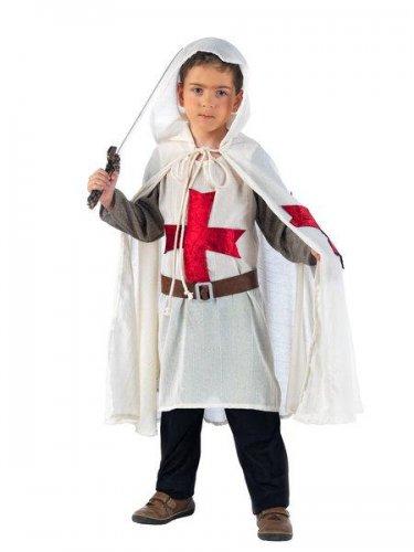 Disfraz de medieval templario - (4) 7 a 9 años