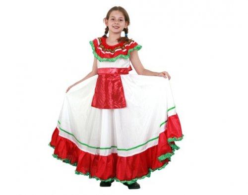 Disfraz de mejicana infantil 7-9 años