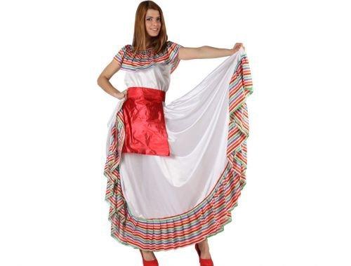 Disfraz de mejicana adulto Talla 2 (M-L)