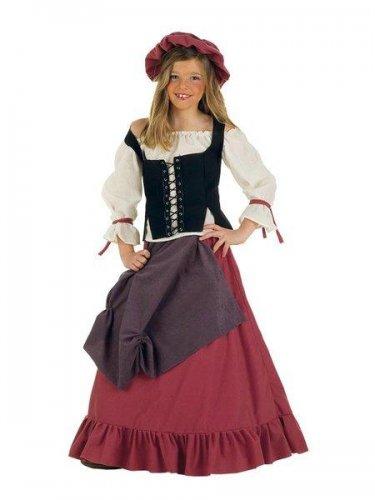 Disfraz de mesonera medieval (4) 7 a 9 años