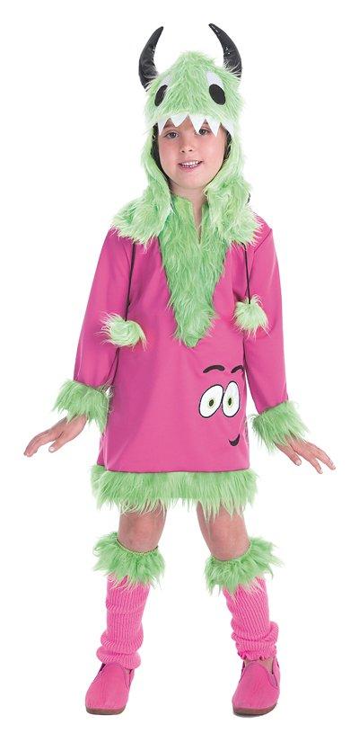 Disfraz de monster verde mimosa talla 2 (5-7 años)