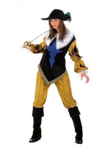 Disfraz de mosquetera aramis