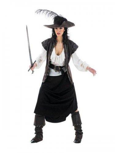Disfraz de mosquetera maria Talla S