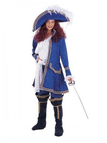 Disfraz de mosquetera saqueadora Talla XL