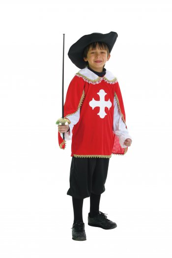 Disfraz de mosquetero talla L (11-14 años)
