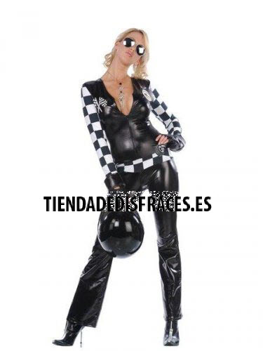 Disfraz de motera