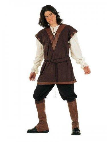 Disfraz de mozo de cuadras medieval Talla XXL
