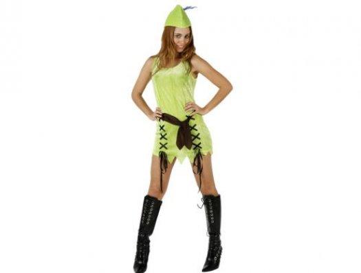 Disfraz de mujer de los bosques adulto XL