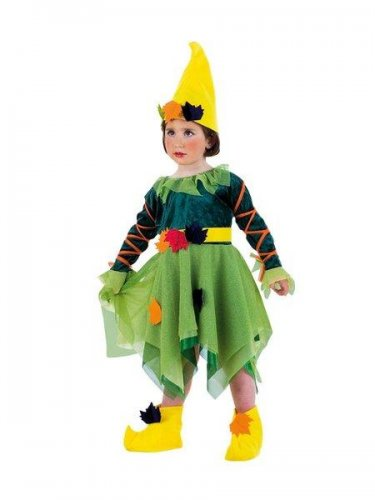 Disfraz de ninfa del bosque Talla 2 años
