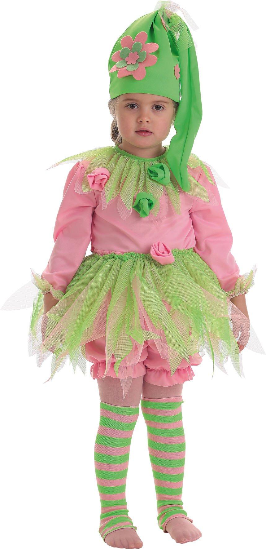 Disfraz de ninfa talla 2 (5-7 años)