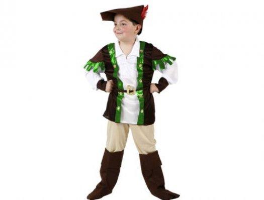 Disfraz de niño de los bosques Talla 4 (10 – 12 años)