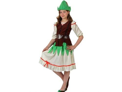 Disfraz de niña de los bosques Talla 4 (10 – 12 años)