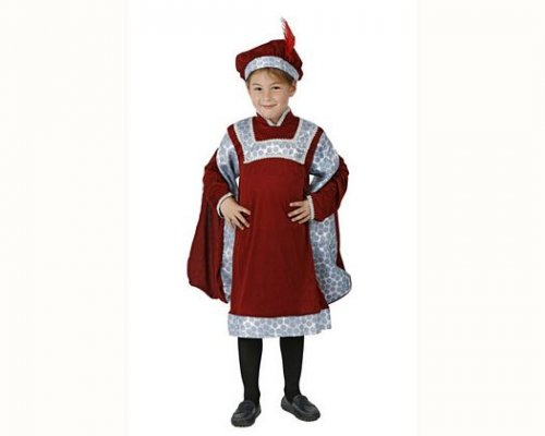 Disfraz de noble renacentista, 7-9 años