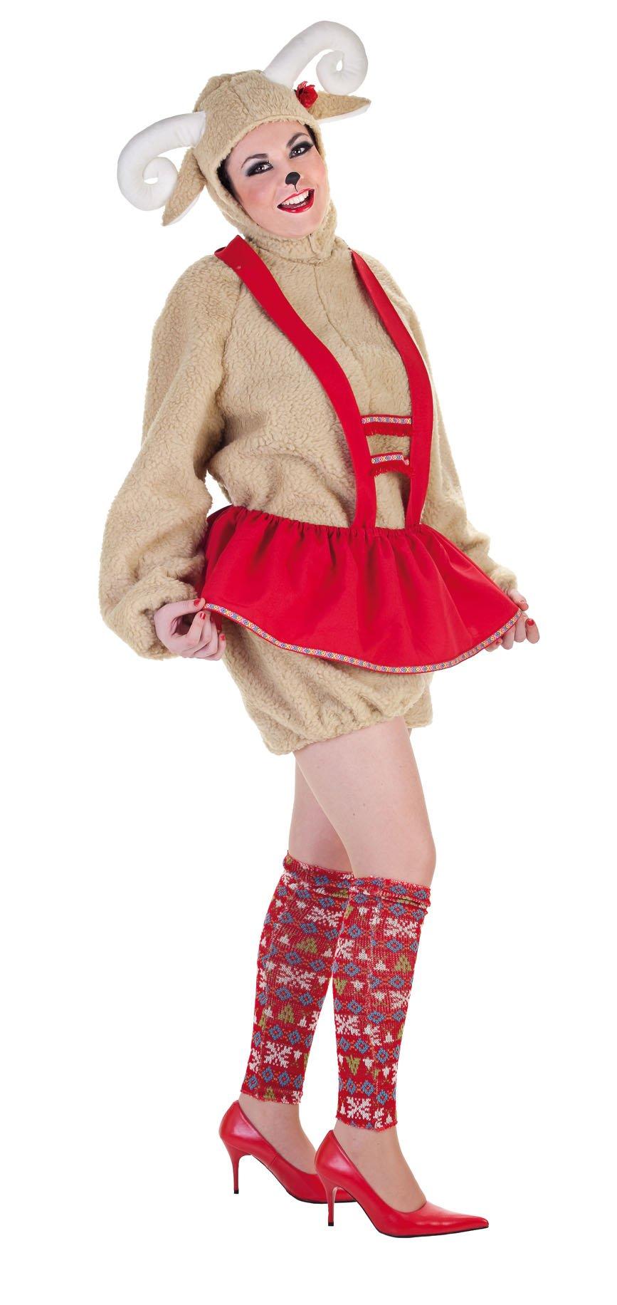 Disfraz de oveja mujer