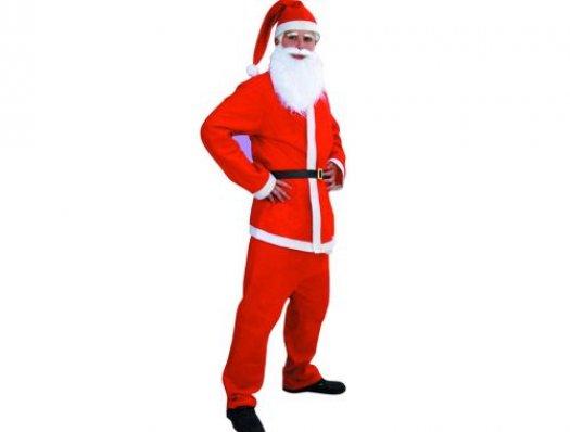 Disfraz de Papa Noel adultos hombre