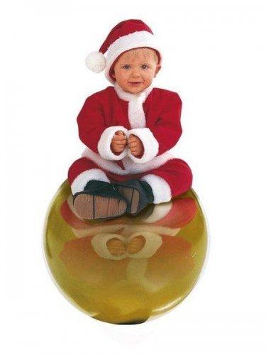 Disfraz de papa noel bebe 01 6 a 1 a o - Disfraz halloween bebe 1 ano ...