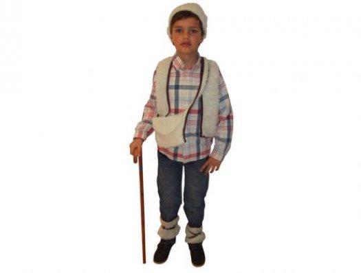Disfraz de pastor, Talla 2 (5 – 6 años)