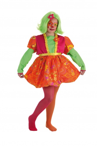 Disfraz de payasa risitas talla 2 (5-7 años)
