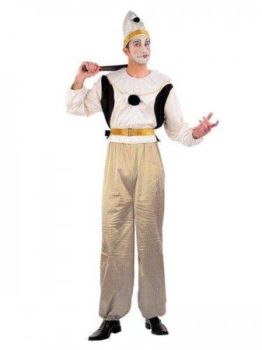 Disfraz de pierrot clasic