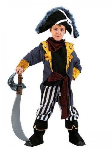 Disfraz de pirata bucanero (5) 9 a 11 años