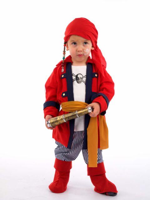 Disfraz de pirata bucanero infantil Deluxe
