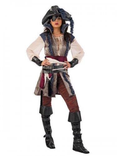 Disfraz de pirata corsaria Talla M
