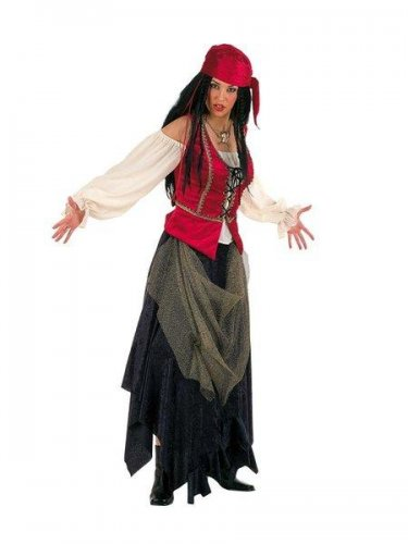 Disfraz de pirata corsaria valorius Talla L