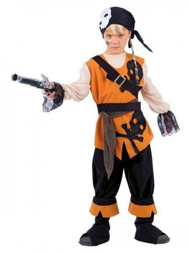 Disfraz De Calabaza Para Nios De 5 A 6 Aos Para Halloween Incluye
