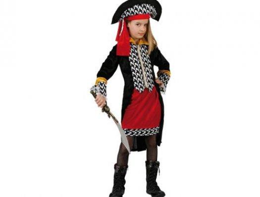 Disfraz de pirata niÑa, 3-4