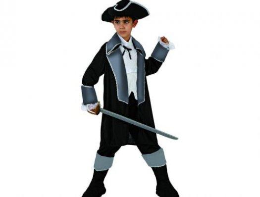Disfraz de pirata noble Talla 4 (10 – 12 años)