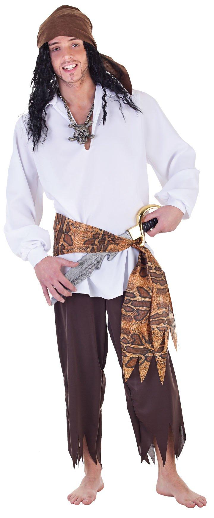 Disfraz de pirata hombre - Imagui
