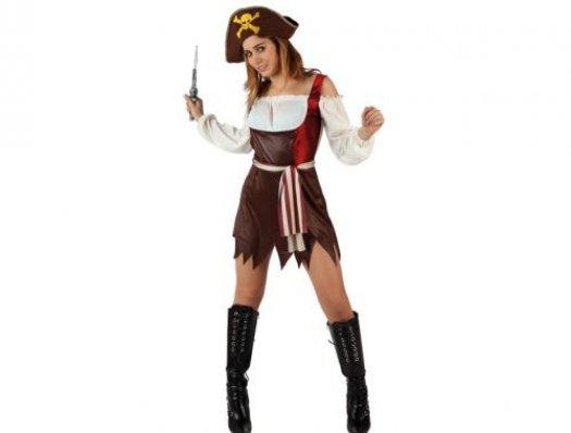 Disfraz de pirata super sexy adulto Talla 3 (XL-XXL)