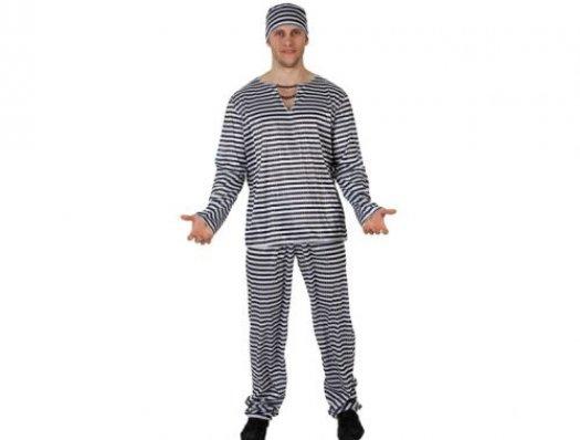 Disfraz de preso adulto xxl