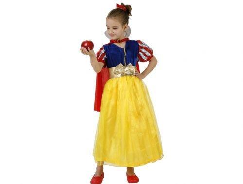 Disfraz de princesa de las nieves Talla 4 (10 – 12 años)